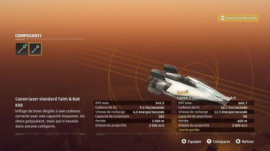 Star Wars Squadrons PC personnalisation