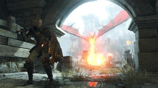 Demon's Souls Fallait pas oublier le four.