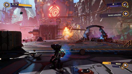 Ratchet _ Clank_ Rift Apart_PS5 explosions