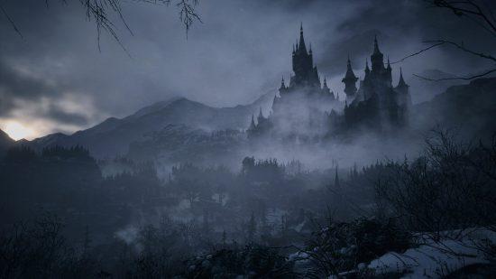 Resident Evil Village PS5 chateau