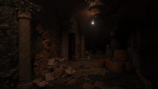 Resident Evil Village PS5 couloir