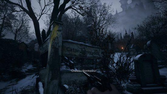 Resident Evil Village PS5 dimitrescu