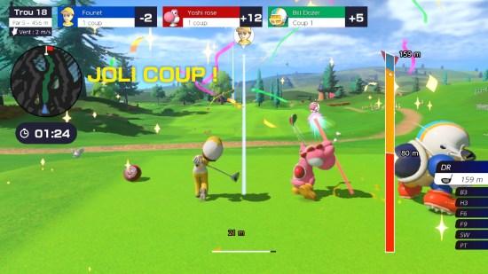 Mario Golf Super Rush Switch joli coup