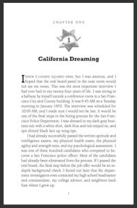 Ch 1: California Dreaming