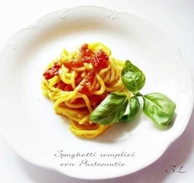 Spaghetti semplici con Pastamatic