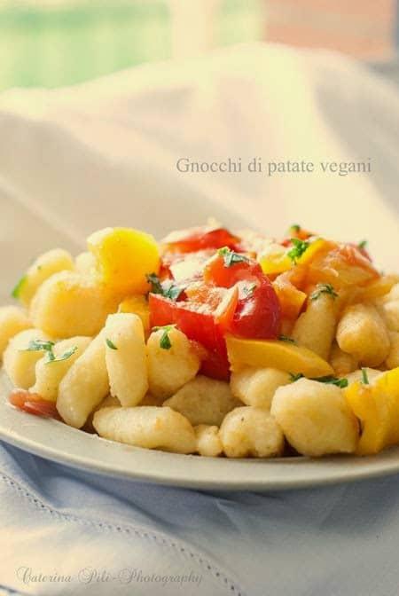 Gnocchi di patate vegani