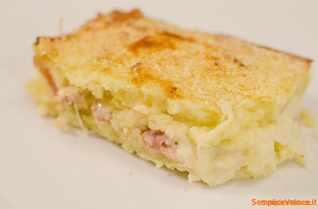 Gateau di patate ricetta semplice e veloce