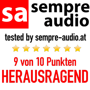 sempre audio Award HERAUSRAGEND