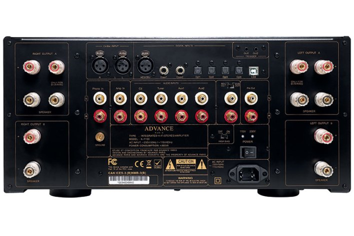 Advance Paris X i1100 Integrated Stereo Amplifier 03