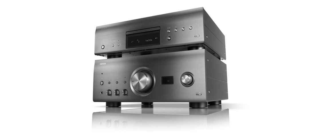Denon PMA-A110 Integrated Amplifier und Denon DCD-A110 SACD Player