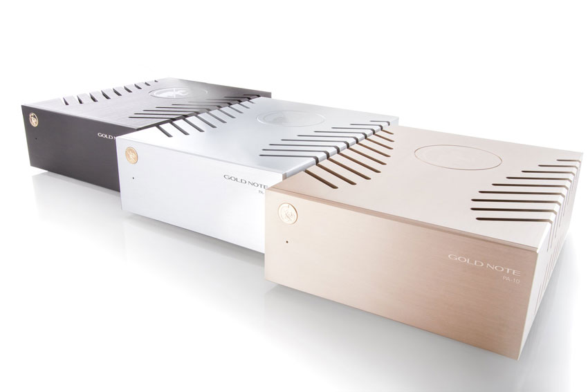 Gold Note PA-10 Stereo Power Amplifier - Der neue Spross der Gold Note Series 10