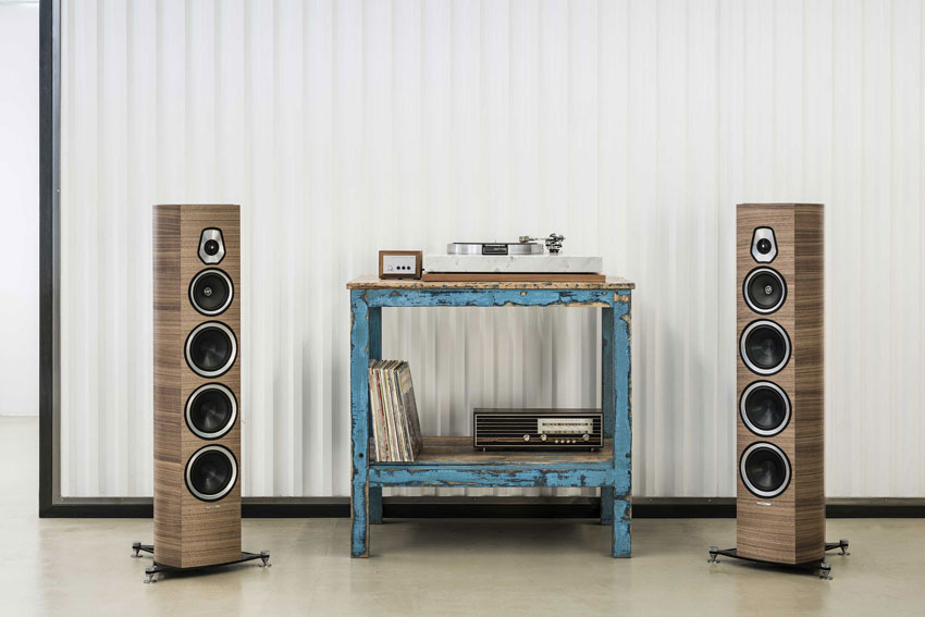 Sonus Faber Sonetto Collection in neuem Design verfügbar