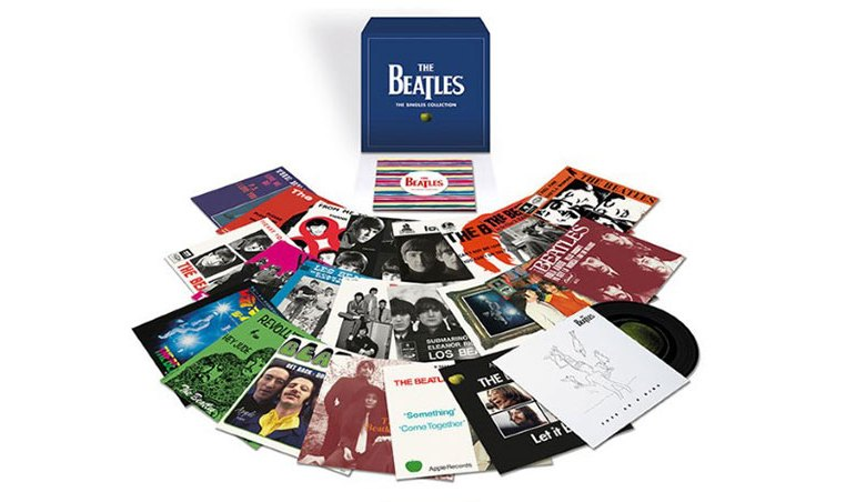 The Beatles The Singles Collection Limited Edition Box Set