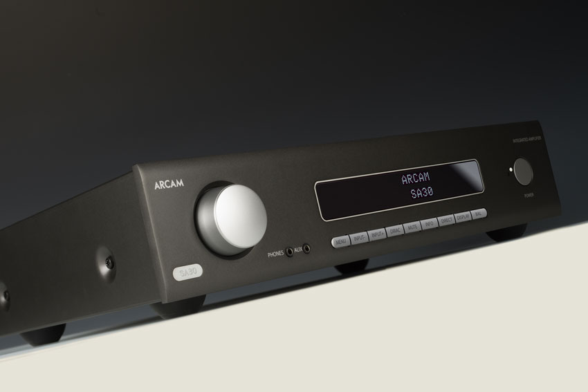 Arcam SA30 Class G Intelligent Integrated Amplifier 01