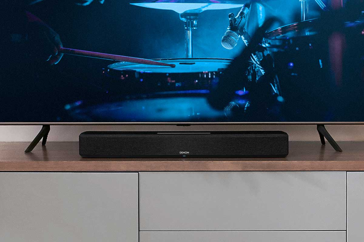 Denon Home Sound Bar 550 – Dolby Atmos, DTS:X und HEOS Built-in