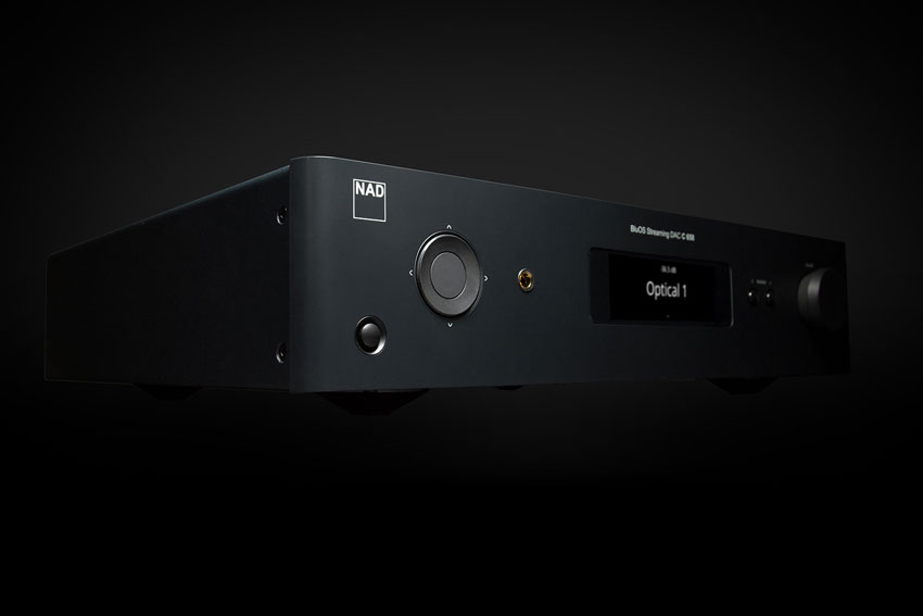 NAD C 658 BluOS Streaming DAC 02