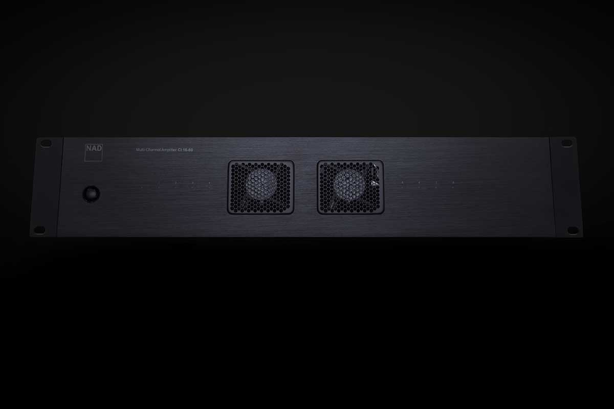NAD CI 16-60 DSP Amplifier – NAD Performance für Custom Install