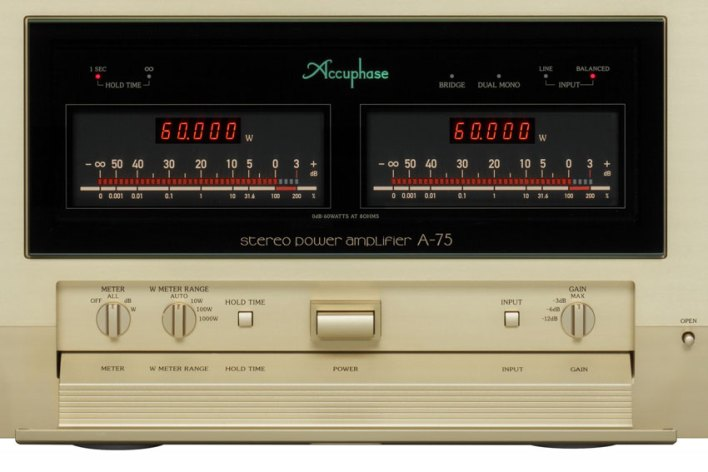 Accuphase A-75 Stereo Power Amplifier
