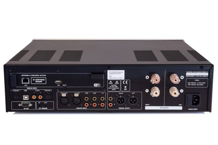 Electrocompaniet ECI 6 DX MKII Integrated Amplifier - DAC und Streamer inklusive…