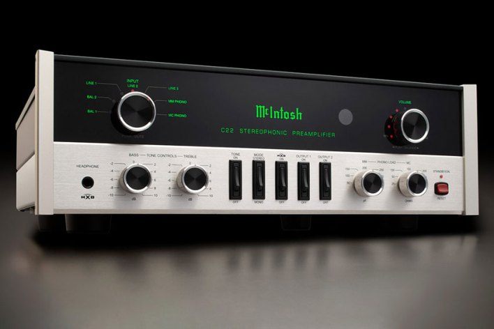 McIntosh C22 2 Channel Vacuum Tube Preamplifier Mk V 06