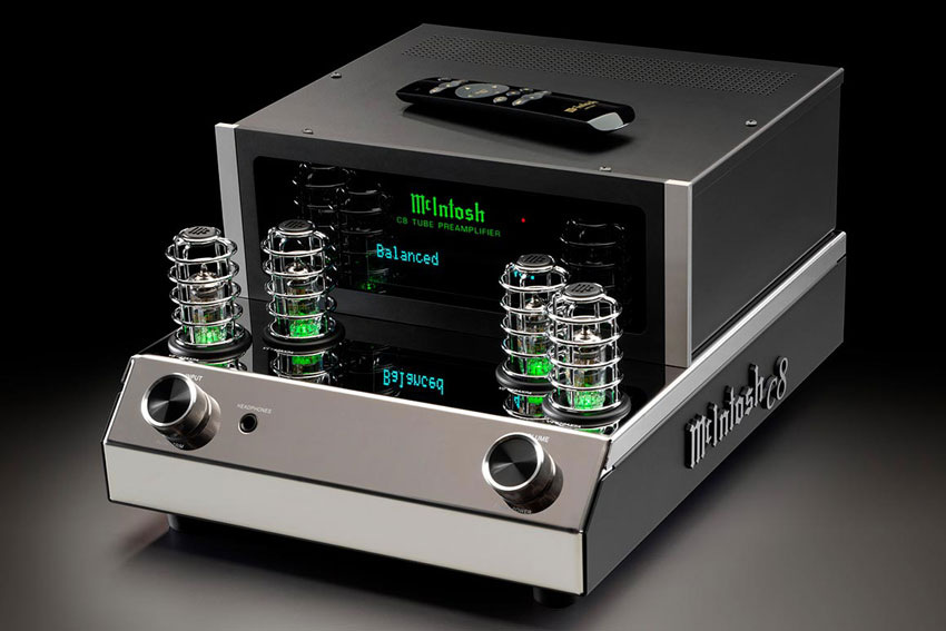 McIntosh C8 2 Channel Vacuum Tube Preamplifier 01