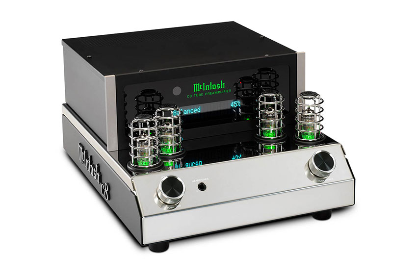 McIntosh C8 2 Channel Vacuum Tube Preamplifier 05