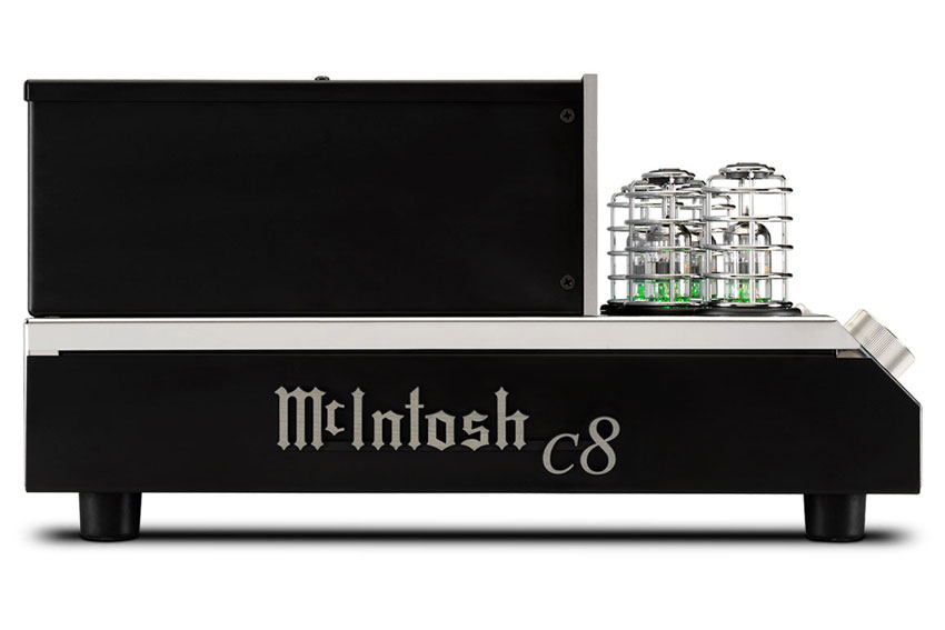 McIntosh C8 2 Channel Vacuum Tube Preamplifier 07