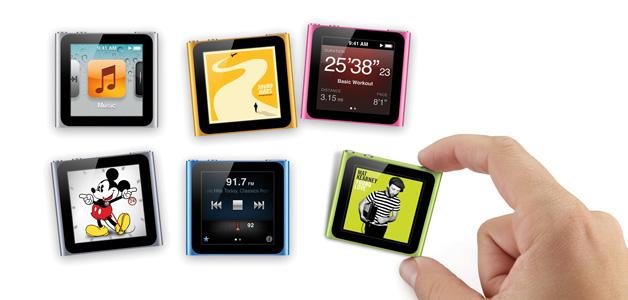 iPod Nano Uhrendesign
