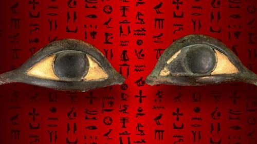 Augenintarsien_einer_Maske/©Ägyptisches Museum Florenz
