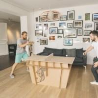 PaperPong aus Karton für flotte Ping-Pong-Fans