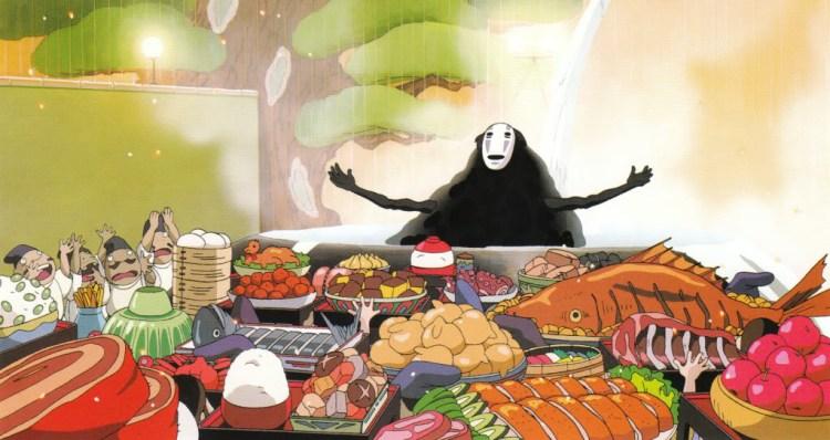 Studio Ghibli, Frame tratto da La Città Incantata.