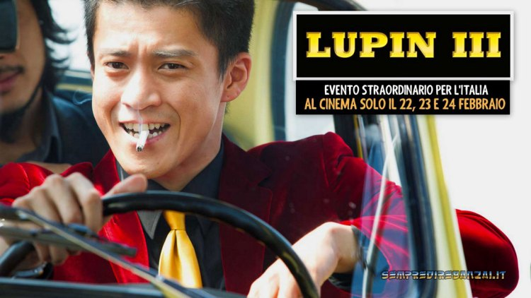 Lupin in carne ed ossa al cinema: elenco sale