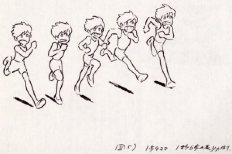 OpenToonz Miyazaki ci spiega come si anima una corsa