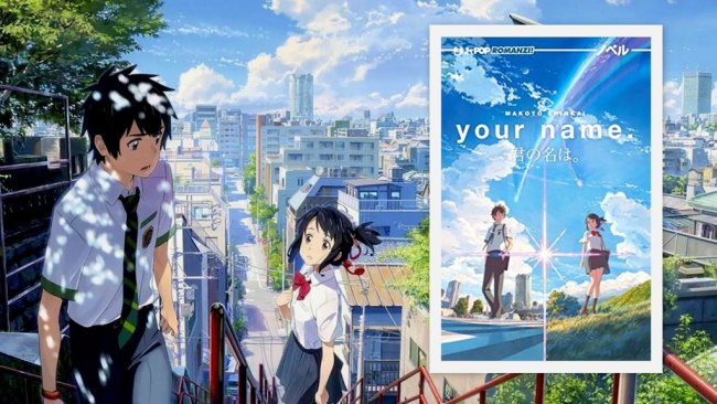 Your Name il romanzo best seller di Shinkai
