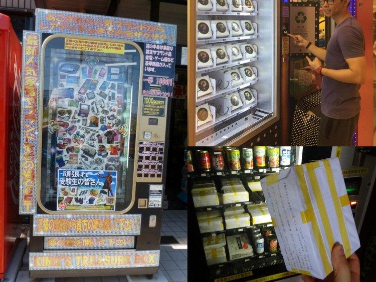 10 cose assurde che vendono nei distributori automatici in Giappone