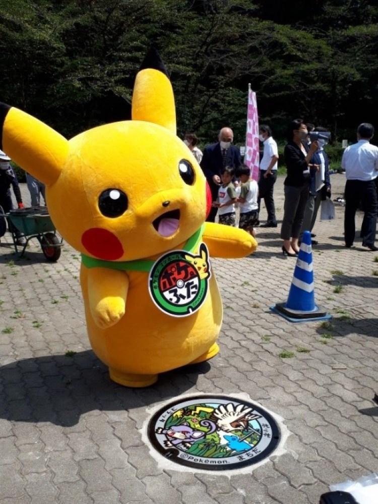 Tombini giapponesi incredibili: a Tokyo installati i Pokétombini