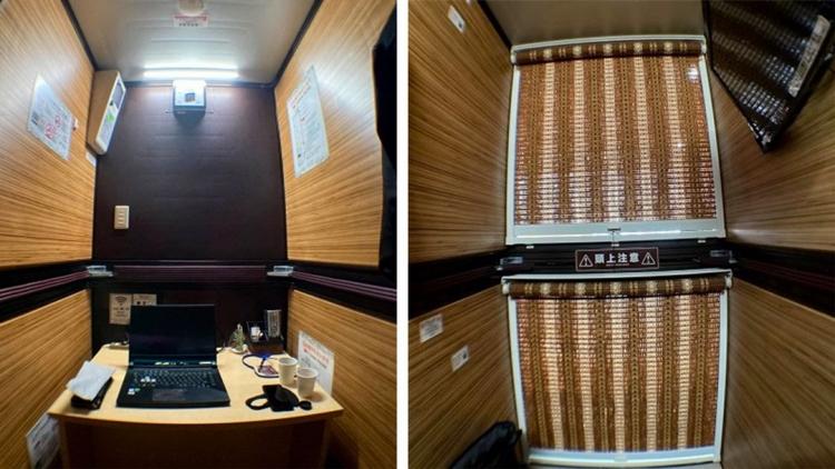 Da capsule hotel a capsule uffici: lavorare durante la pandemia a Tokyo