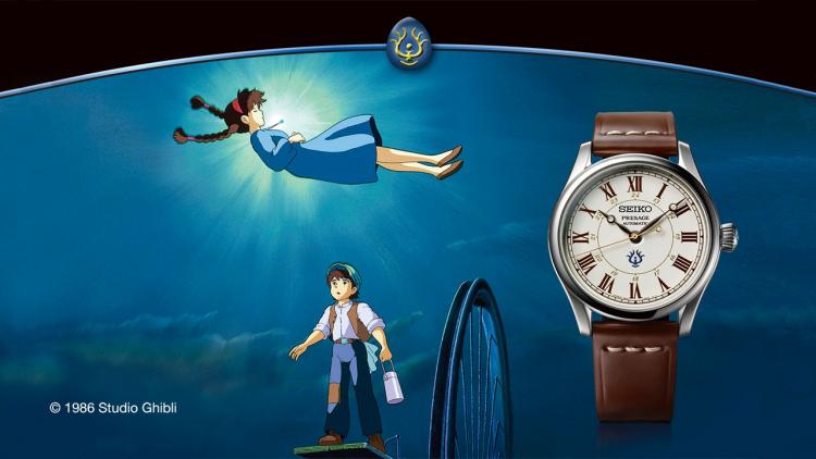 L'orologio Studio Ghibli in collaborazione con Seiko