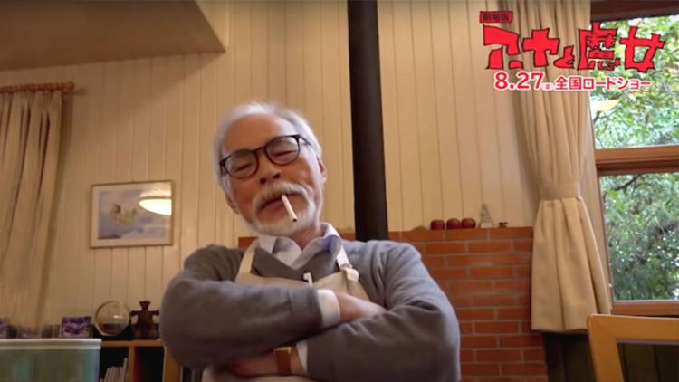 Hayao Miyazaki rilascia un'intervista sull'ultimo film Ghibli del figlio