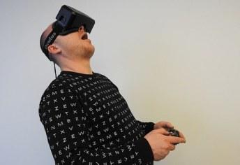 using VR