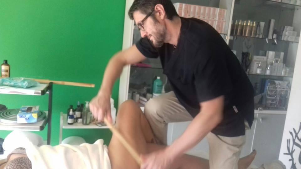 Massaggio canne di bambù