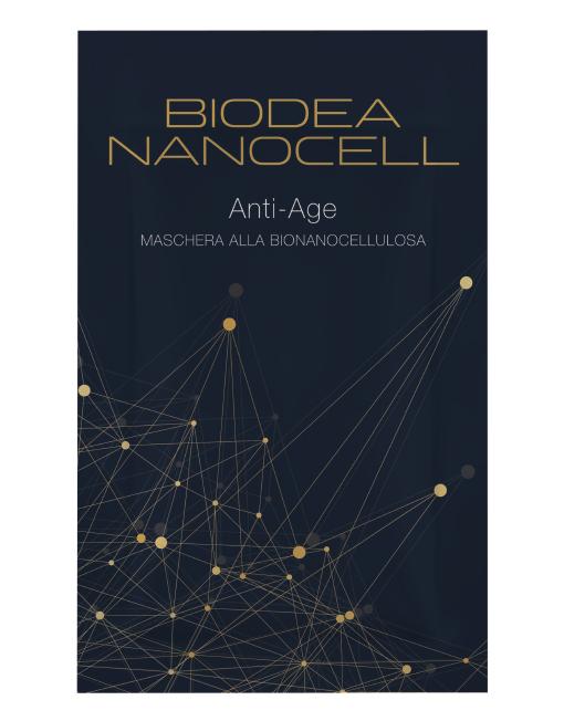 Maschera antiage alla bio nanoncellulosa