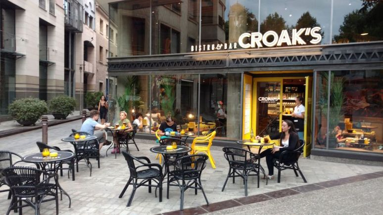 croaks restaurant girona 2
