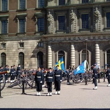 Cambio guardia Estocolmo