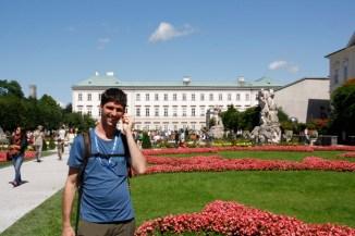 Jardines Mirabell, Salzburgo