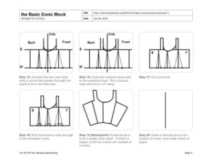 Screenshot: Basic Conic Block Download