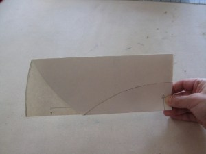 a folded circle