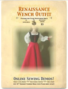 cover sheet for tyler wench pattern