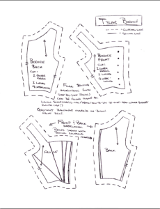 A sample page from the pattern
