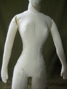 old cloth doll body